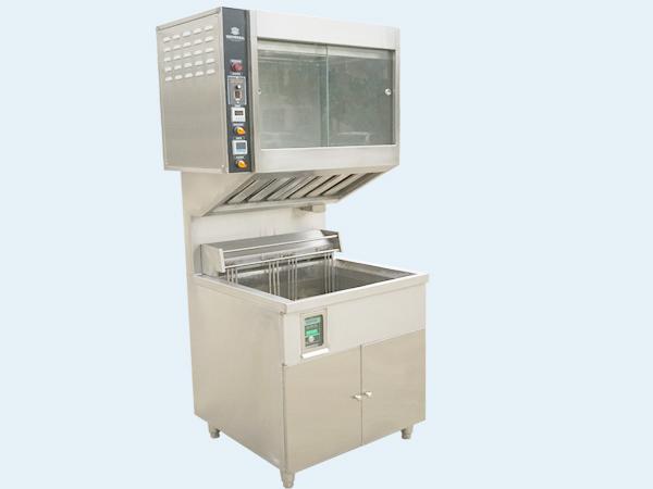 电热炸炉连自动淋油机(MC-EF-6-O