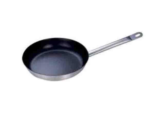 不锈钢复合底(不粘)煎锅